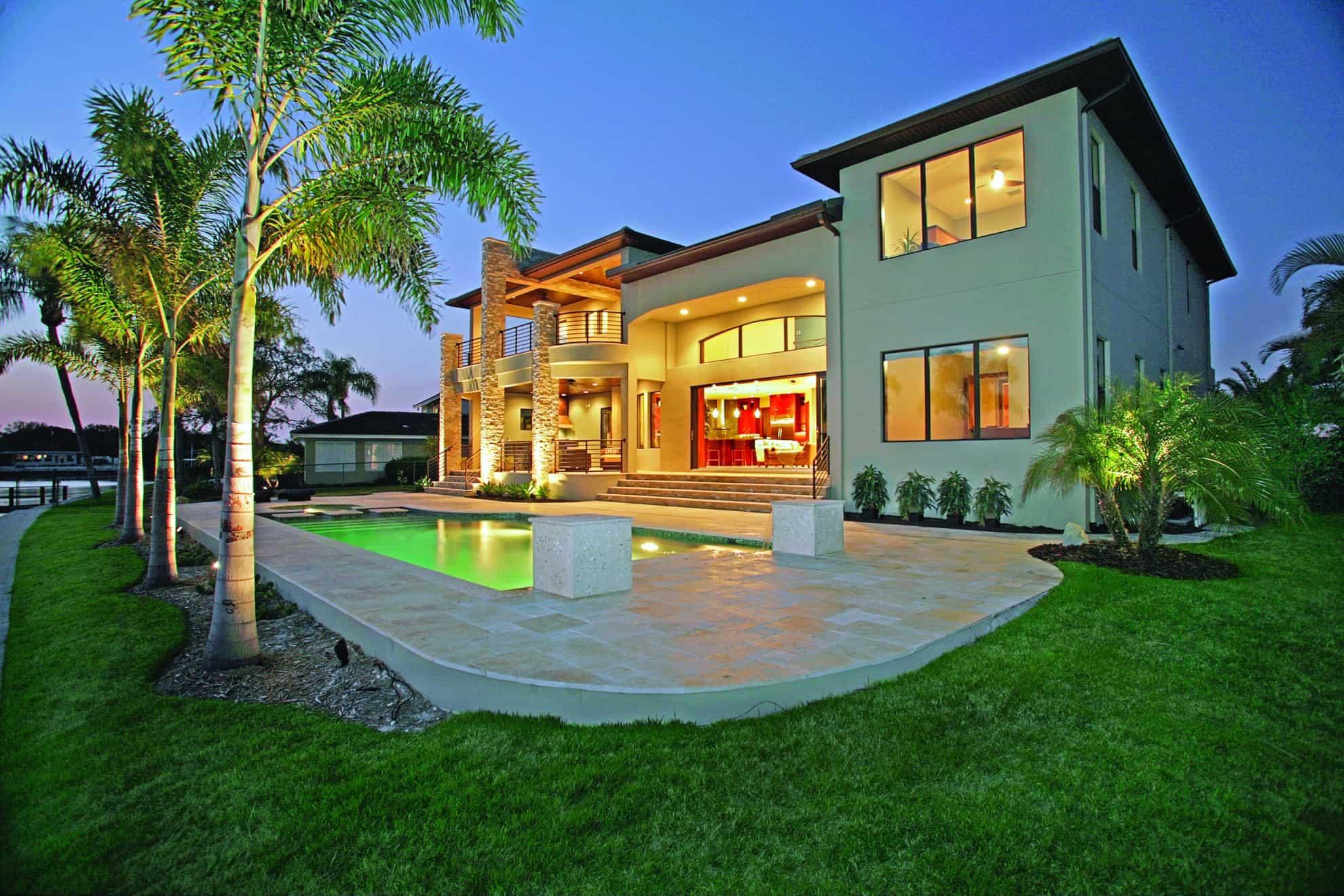 Custom home builder tampa st petersburg luxury home for Custom build home